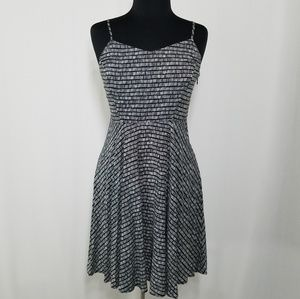 Old Navy Dress Adjustable Strap Fit Flair Summer M